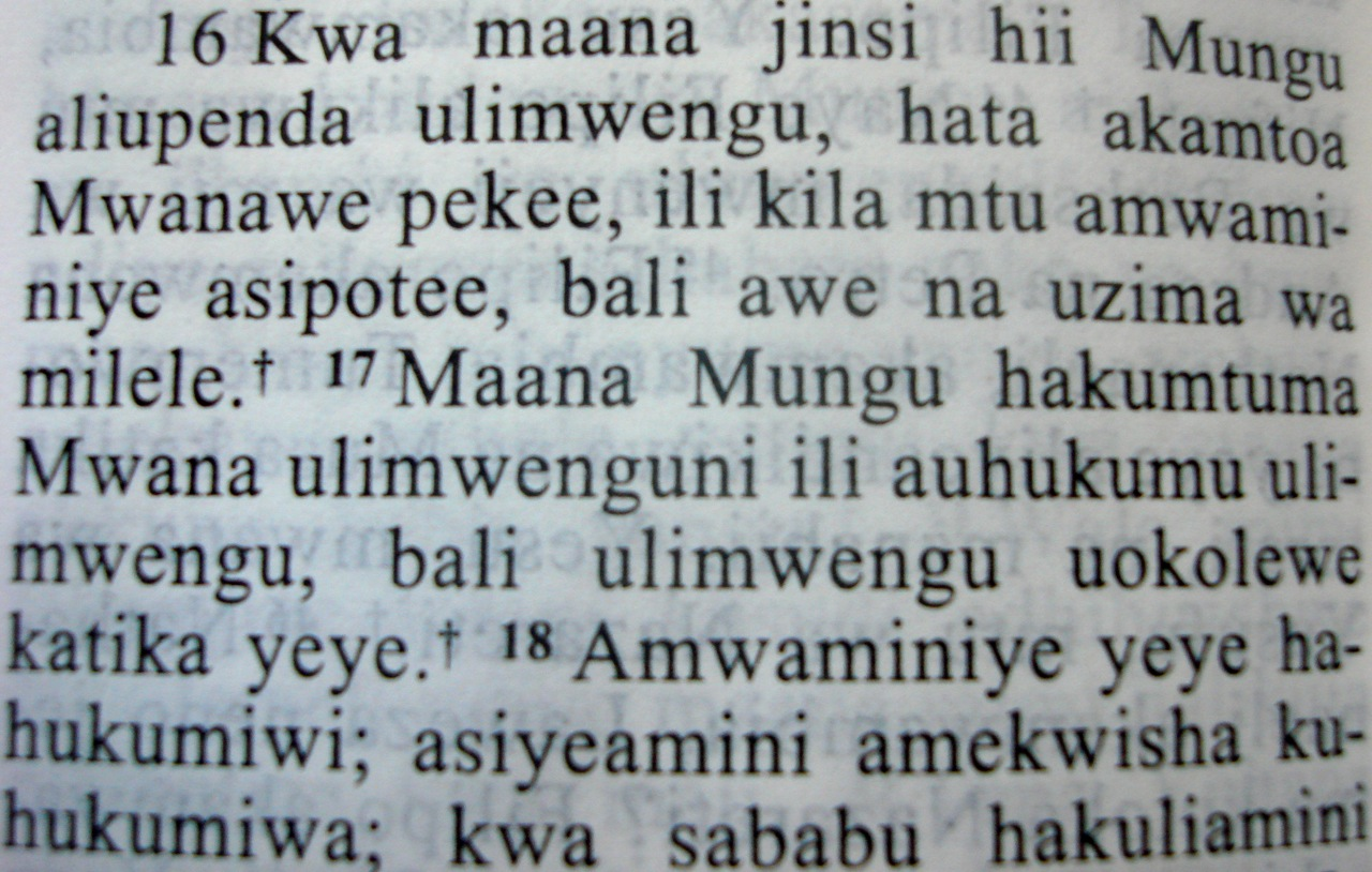 Download holy bible in swahili
